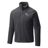 Columbia Full Zip Charcoal Fleece Jacket-Waldorf W