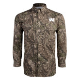 Camo Long Sleeve Performance Fishing Shirt-Waldorf W