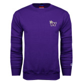 Purple Fleece Crew-Waldorf W