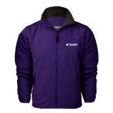 Purple Survivor Jacket-Waldorf University Academic Mark Flat