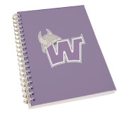 Clear 7 x 10 Spiral Journal Notebook-Waldorf W