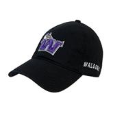 Black Twill Unstructured Low Profile Hat-Waldorf W