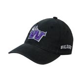 Black OttoFlex Unstructured Low Profile Hat-Waldorf W