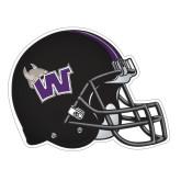 Football Helmet Magnet-Waldorf W