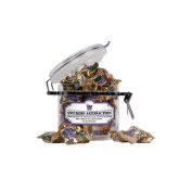 Snickers Satisfaction Small Round Canister-W Waldorf Warriors