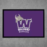 Full Color Indoor Floor Mat-W Waldorf Warriors
