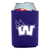 Collapsible Purple Can Holder-Waldorf W