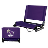 Stadium Chair Purple-Mom