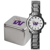Mens Stainless Steel Fashion Watch-Waldorf W
