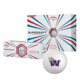 Callaway Supersoft Golf Balls 12/pkg-Waldorf W
