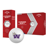 Callaway Chrome Soft Golf Balls 12/pkg-Waldorf W