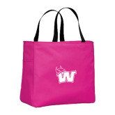 Tropical Pink Essential Tote-Waldorf W
