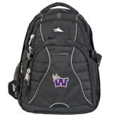 High Sierra Swerve Black Compu Backpack-Waldorf W