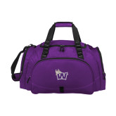 Challenger Team Purple Sport Bag-Waldorf W