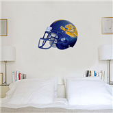 2 ft x 3 ft Fan WallSkinz-Warner Football Helmet