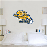 3.5 ft x 4 ft Fan WallSkinz-Warner Royals w/ Lion