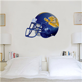 3.5 ft x 4 ft Fan WallSkinz-Warner Football Helmet
