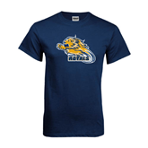 Navy T Shirt-Warner Royals w/ Lion