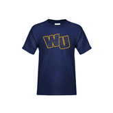 Youth Navy T Shirt-WU