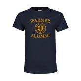 Youth Navy T Shirt-Alumni