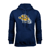 Navy Fleece Hoodie-Warner Royals w/ Lion