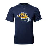 Under Armour Navy Tech Tee-Warner Royals w/ Lion