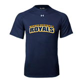 Under Armour Navy Tech Tee-Arched Warner University Royals