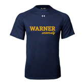 Under Armour Navy Tech Tee-Warner University