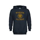Youth Navy Fleece Hoodie-Alumni