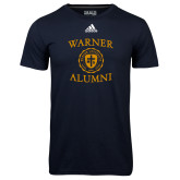 Adidas Climalite Navy Ultimate Performance Tee-Alumni