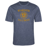 Performance Navy Heather Contender Tee-Alumni