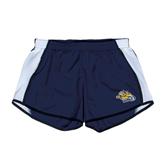 Ladies Navy/White Team Short-Warner Royals w/ Lion