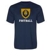 Performance Navy Tee-Football