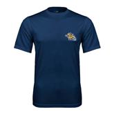 Performance Navy Tee-Warner Royals w/ Lion