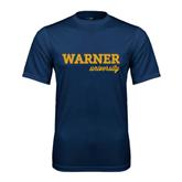 Performance Navy Tee-Warner University