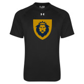 Under Armour Black Tech Tee-Lion Head Shield