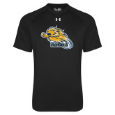 Under Armour Black Tech Tee-Flying Lion