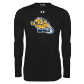 Under Armour Black Long Sleeve Tech Tee-Flying Lion