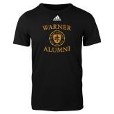 Adidas Black Logo T Shirt-Alumni