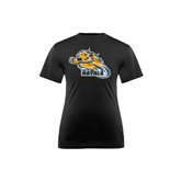 Youth Syntrel Performance Black Training Tee-Warner Royals w/ Lion