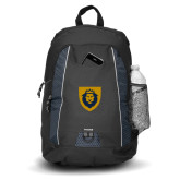 Impulse Black Backpack-Lion Head Shield
