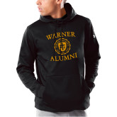 Under Armour Black Armour Fleece Hoodie-Alumni