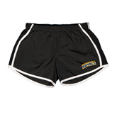 Ladies Black/White Team Short-Arched Warner University Royals