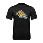 Syntrel Performance Black Tee-Warner Royals w/ Lion