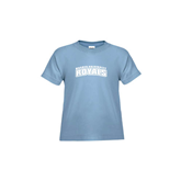 Toddler Light Blue T Shirt-Arched Warner University Royals