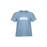 Toddler Light Blue T Shirt-Arched Warner University Royals