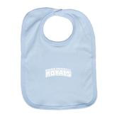 Light Blue Baby Bib-Arched Warner University Royals