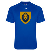 Under Armour Royal Tech Tee-Lion Head Shield