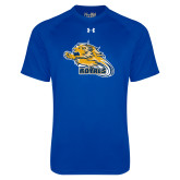 Under Armour Royal Tech Tee-Flying Lion
