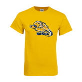 Gold T Shirt-Warner Royals w/ Lion